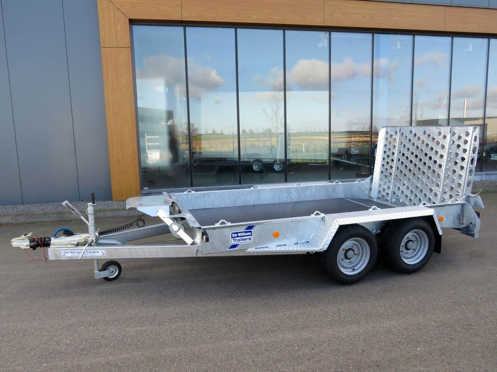 Ifor Williams GH1054 machinetransporter 304x162cm 3500kg