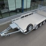 Ifor Williams machinetransporter GP146 429x178cm 3500kg tridemas Ifor Williams machinetransporter 429x178cm 3500kg tridemas PAK Aanhangwagens 3.0 bovenaanzicht