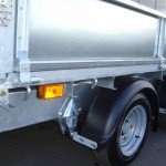 Ifor Williams plateauwagen 547x225cm 3500kg Ifor Williams plateau 547x225cm 3500kg 2-as PAK Aanhangwagens banden