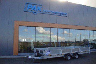 Ifor Williams plateau 547x198cm 2-as plateauwagens PAK Aanhangwagens hoofd PAK aanhangwagens