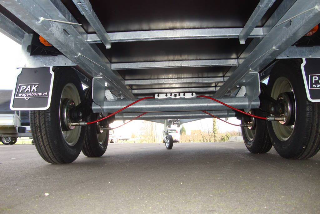 Anssems plateauwagen 305x153cm 2000kg eco PAK Aanhangwagens chassis