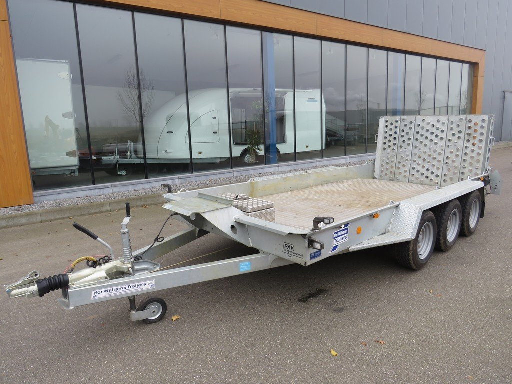 Ifor-Williams Machinetransporter 419x184cm 3500kg uit 2020